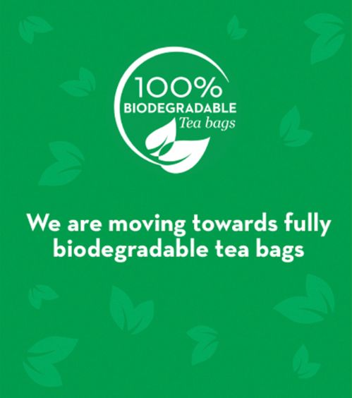 Moving to fully biodegradable tea bags?