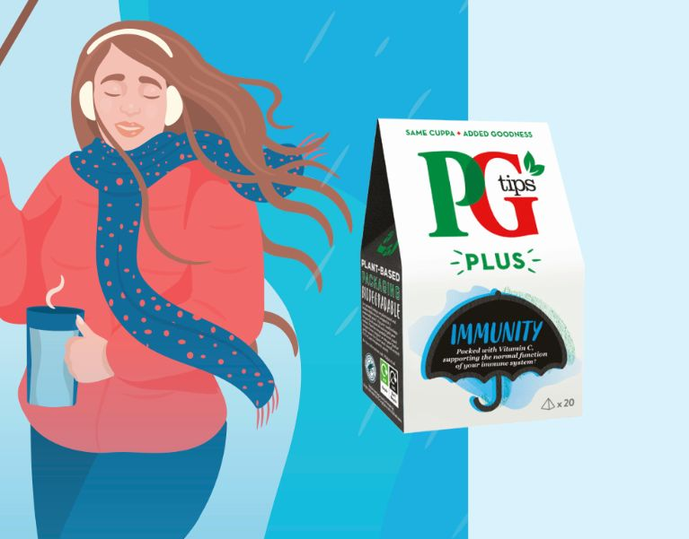 PGtips Plus Immunity Tea